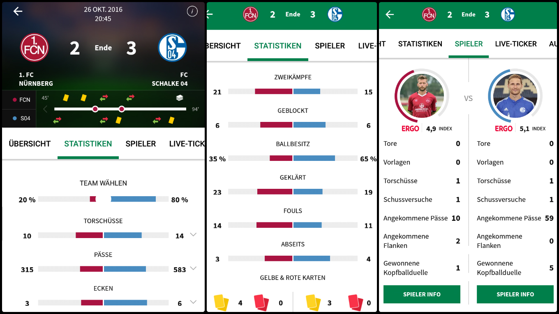 live fussball app