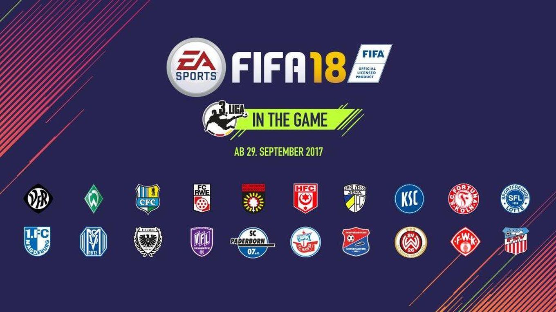 FIFA 18 : les pépites de la Liga 3 :: DFB Deutscher