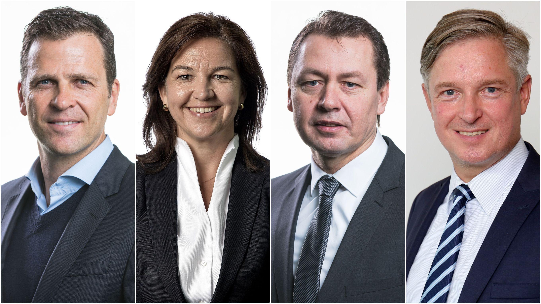 Präsidium beschließt organisationsstruktur & beruft direktoren