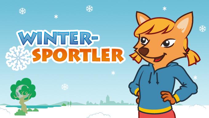 Winter-Sportler