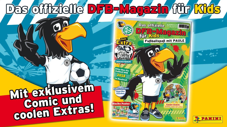Das Neue Offizielle Dfb Magazin Fur Kids Ist Da Dfb