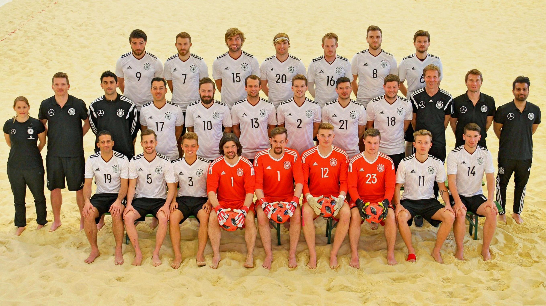 Das Team :: Nationalmannschaft :: Beachsoccer :: Sportlich