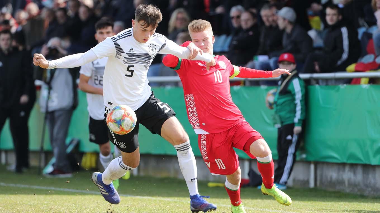 U 17 Verpasst Sieg Gegen Weissrussland Dfb Deutscher