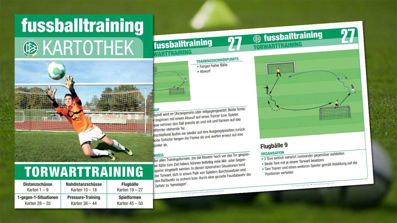 Fussballtraining Kartothek Trainingspraxis To Go Dfb
