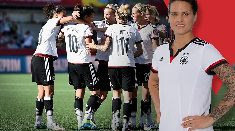 Dein Trikot Zum Viertelfinale Der Frauen Dfb Deutscher Fußball