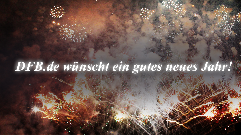 DFB.de wünscht ein gutes neues Jahr! :: DFB - Deutscher Fußball-Bund ...