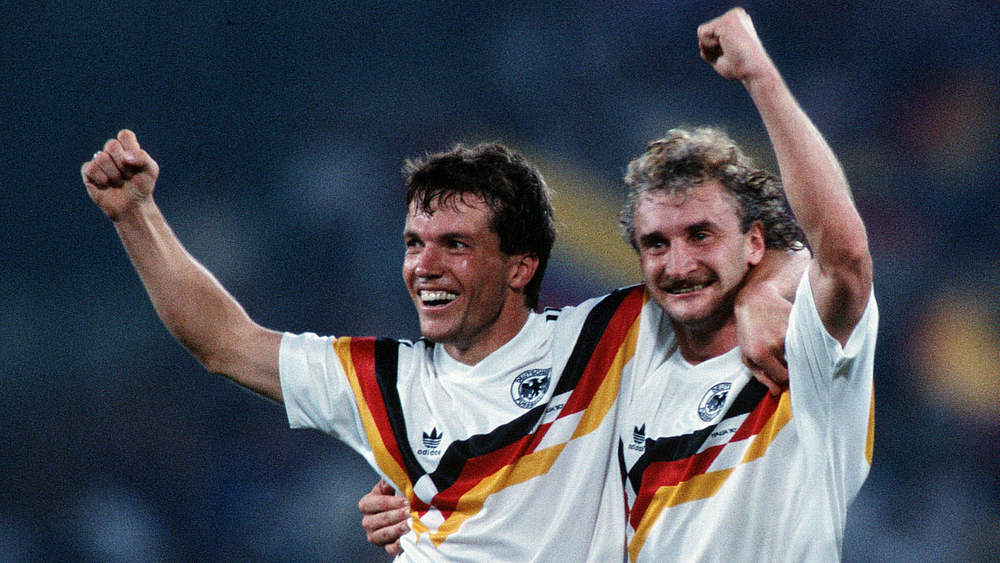 Lothar Matthaus Ehrenspielfuhrer Innen Historie Der Dfb Dfb Deutscher Fussball Bund E V