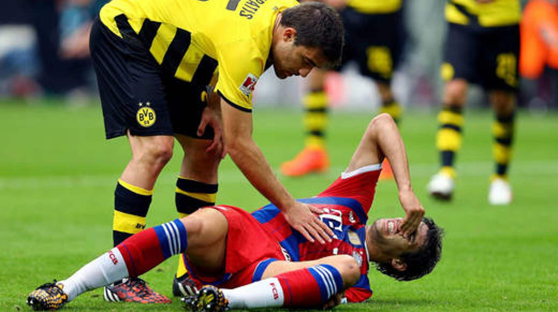 Bayerns Martínez: Diagnose Kreuzbandriss :: DFB - Deutscher