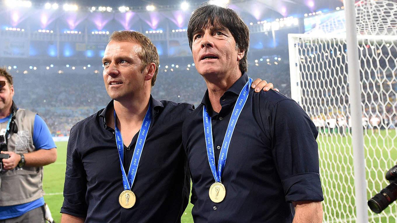 """Flick: """"Meine Mannschaft sind nun die Trainer"""" :: DFB - Deutscher  Fußball-Bund e.V."""