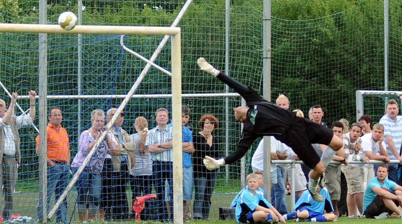 Der Torwart Und Die Fussballregeln Dfb Deutscher Fussball