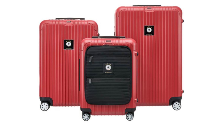 rimowa liefert die koffer der weltmeister dfb. Black Bedroom Furniture Sets. Home Design Ideas