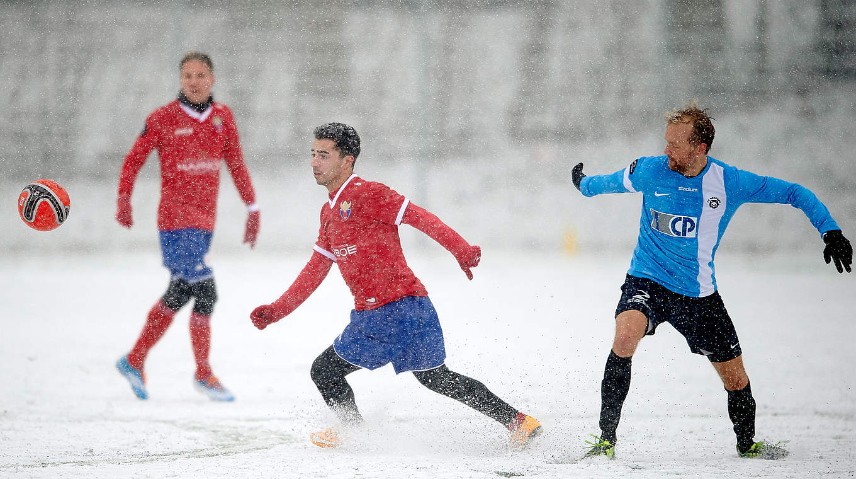 So Trainieren Sie Auf Schnee Dfb Deutscher Fussball