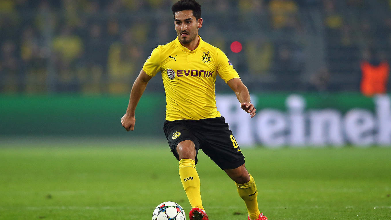 Ilkay Gündogan extends Dortmund contract until 2017 DFB