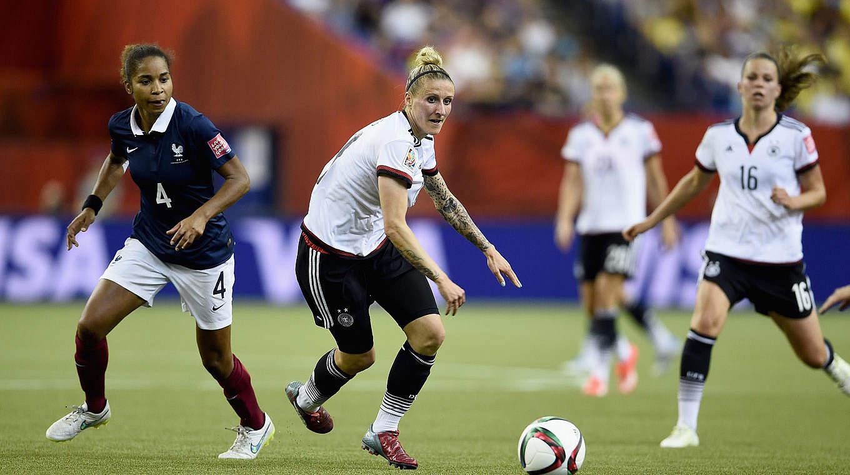 Fußball Frauen Deutschland Frankreich