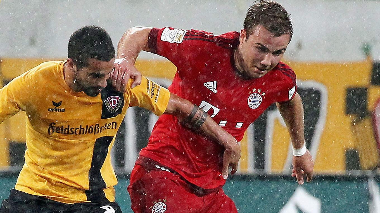 Fc Bayern Gewinnt Benefizspiel In Dresden 31 Dfb Deutscher