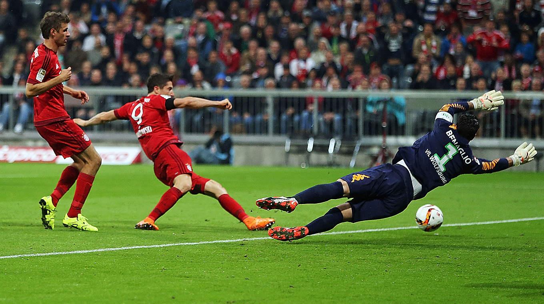 Tore Lewandowski Wolfsburg