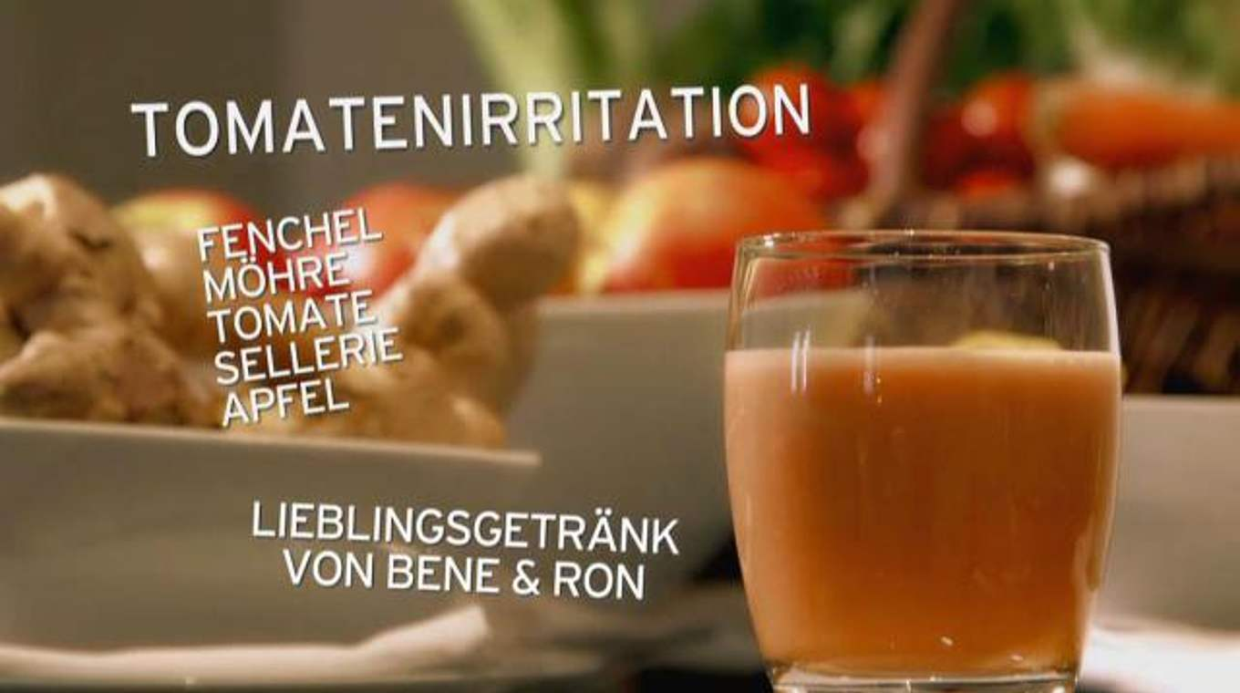 Trink dich fit mit stromberg tomatenirritation dfb for Koch dich fit