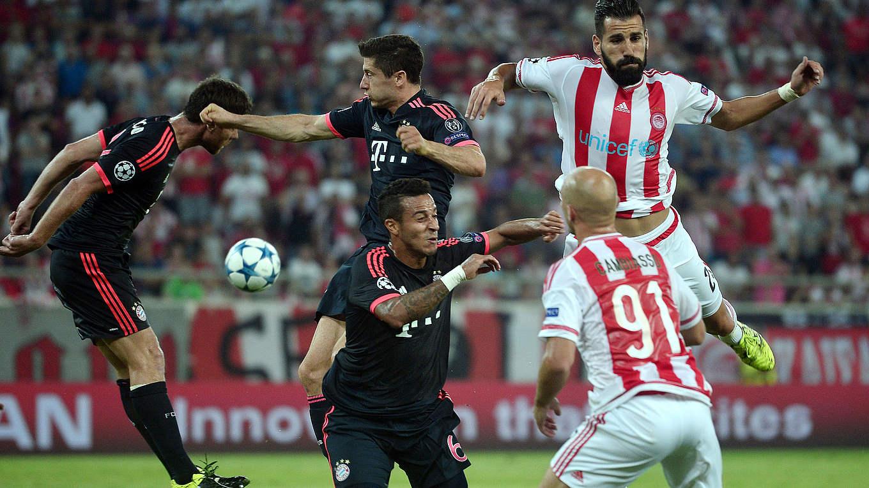 Bayern Gegen Piräus