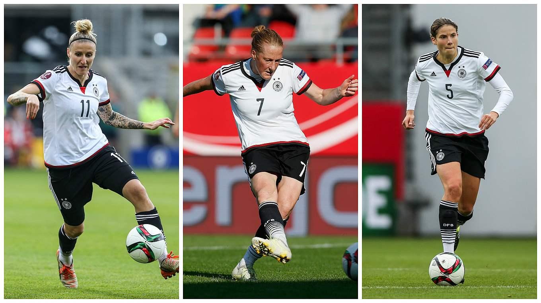 Treffen der Nationalspielerinnen: UEFA ehrt DFB-Frauen