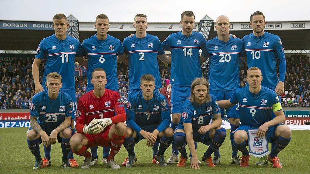 Island Nationalmannschaft Berufe