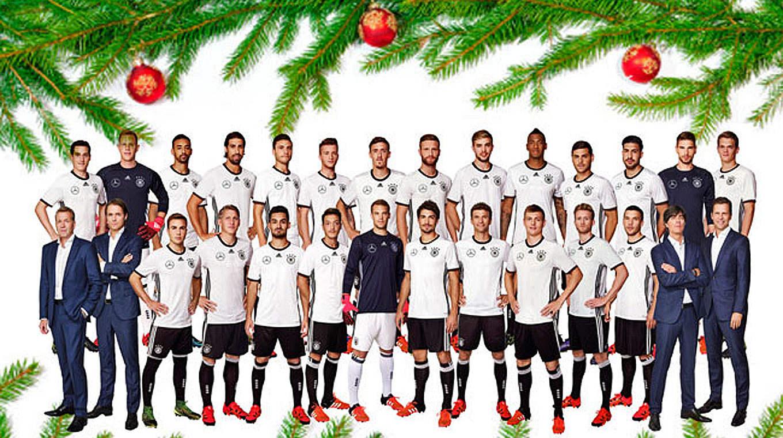 Dfb De Wunscht Frohe Weihnachten Dfb Deutscher Fussball