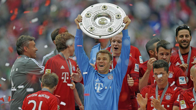 Manuel Neuer élu « gardien mondial de l'année » pour la troisième ...