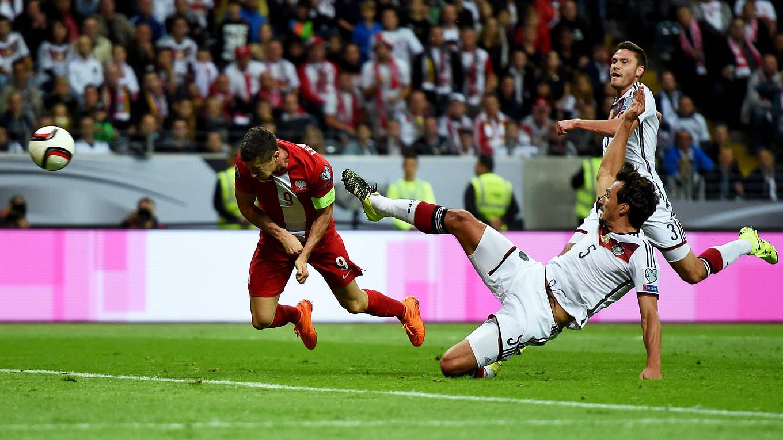 Deutschland Gegen Polen In Frankfurt
