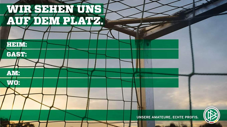 Individuelles Spielplakat Entwerfen Dfb Deutscher