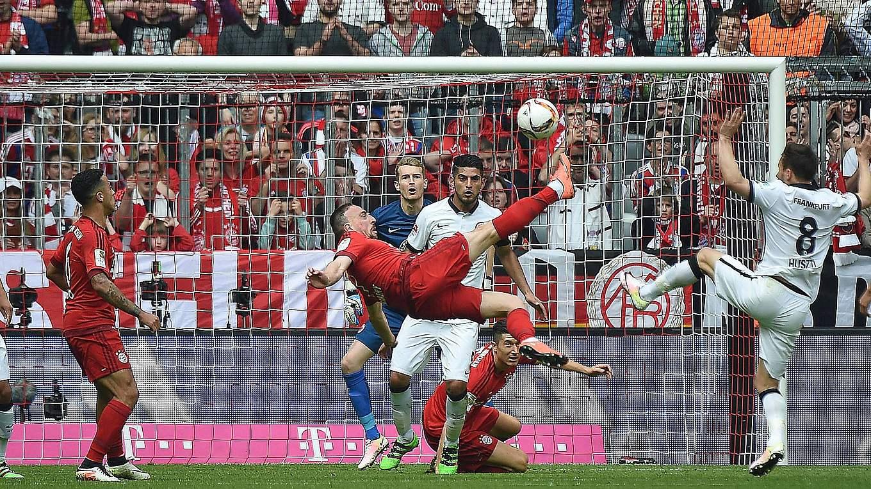Ribery Tor Frankfurt Video