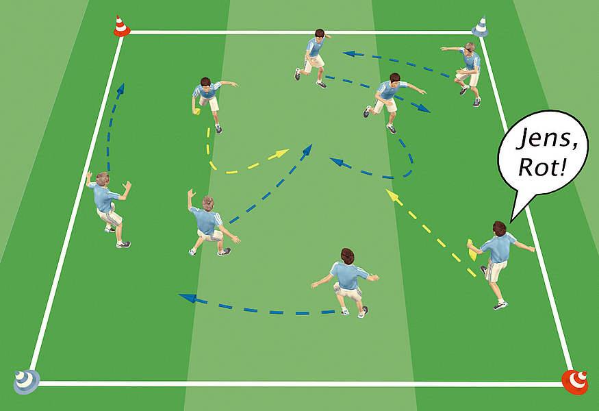 Der Dino baut auf u0026#39;Kognitives Trainingu0026#39;! :: DFB - Deutscher Fuu00dfball-Bund e.V.