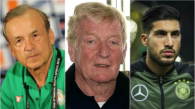 Fußball Botschafter Rohr Schnellinger und Can ausgezeichnet