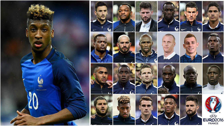 Nationalmannschaft Kader Frankreich