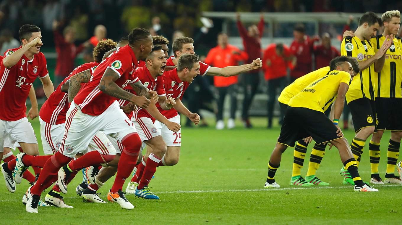 Borussia Dortmund DFB-Pokalfinale Berlin 21.05.2016 FC Bayern München
