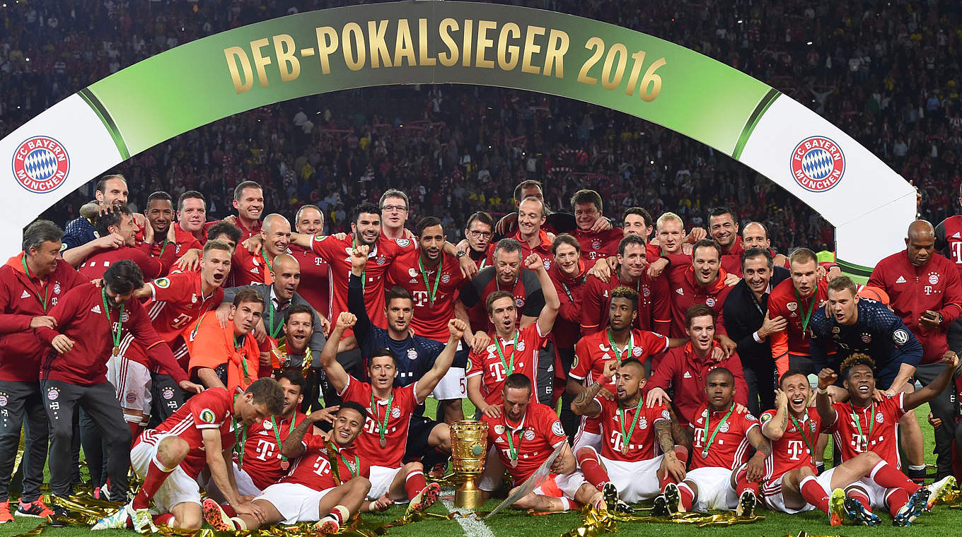 bayern m nchen gewinnt dfb pokal 2016 dfb deutscher fu ball bund e v. Black Bedroom Furniture Sets. Home Design Ideas