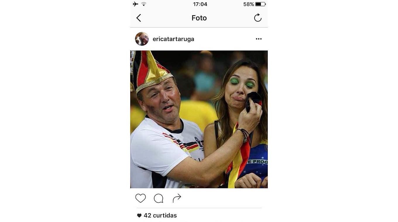 Brasilianerin aus Deutschen Bordell beim Saugen