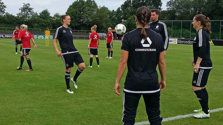 Öffentliches Training Nationalmannschaft
