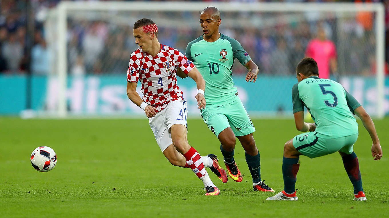 Fussball Kroatien Portugal