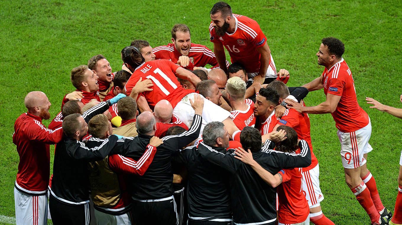 Em Wales Gegen Belgien