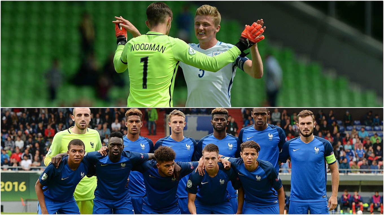 Fußball Frankreich England