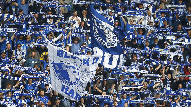 1 Fc Magdeburg Volles Haus Im Dfb Pokal Dfb Deutscher Fußball