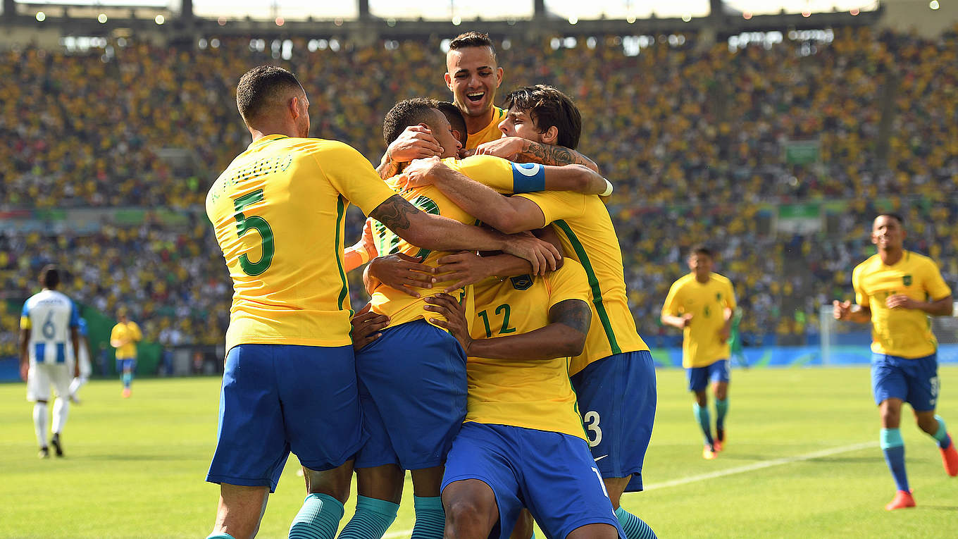 brasilien fußball olympia