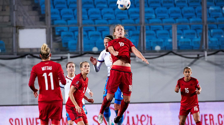 frauenfußball deutschland russland