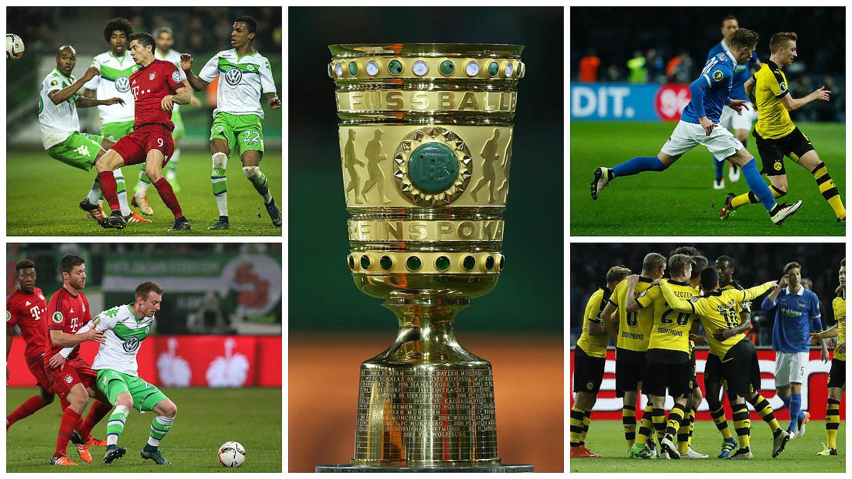 Achtelfinale Ard Zeigt Bayern Vs Wolfsburg Und Bvb Vs Hertha Live