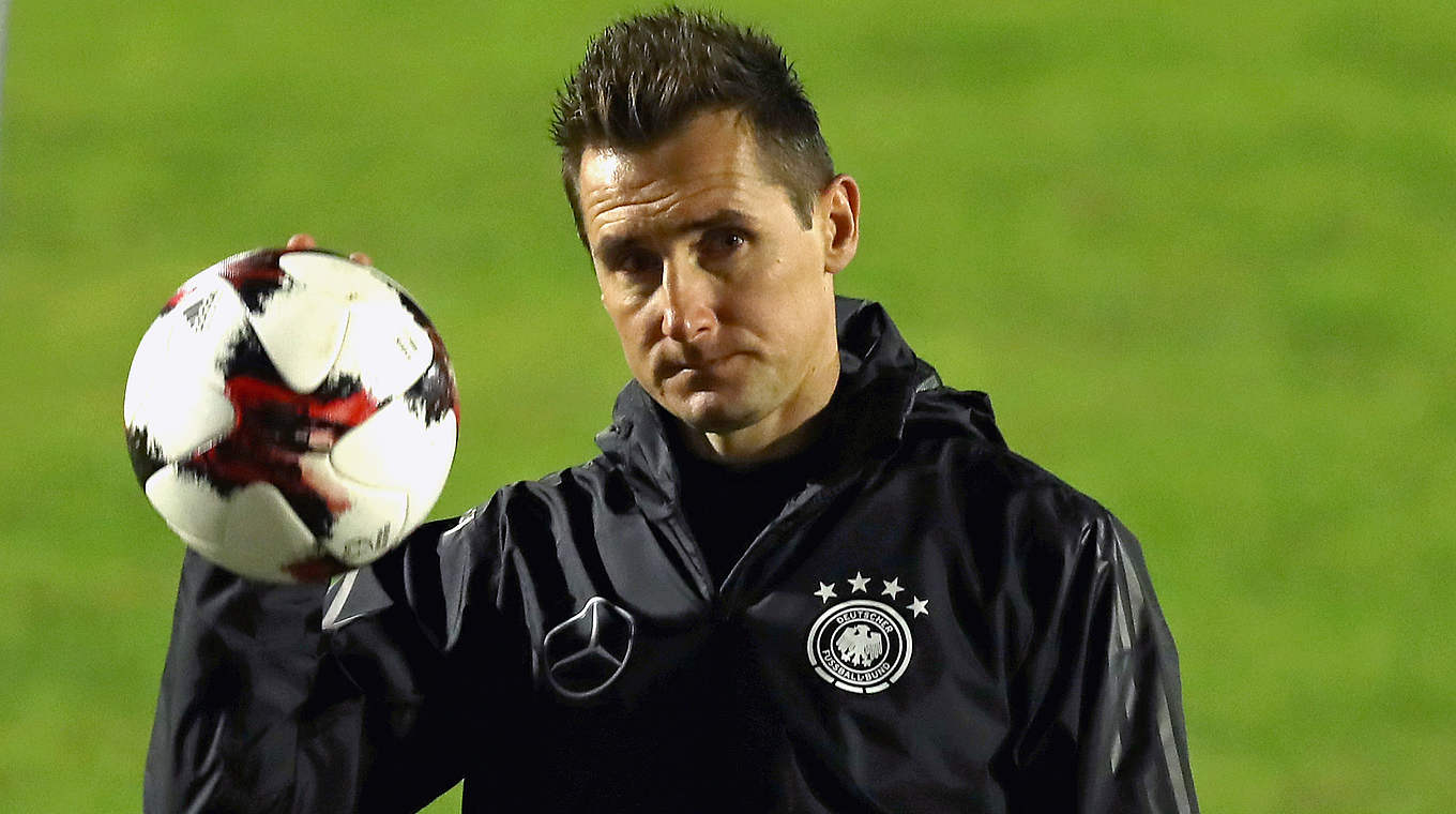 "Klose ""Coaching is my objective but I m not in a rush"" DFB"