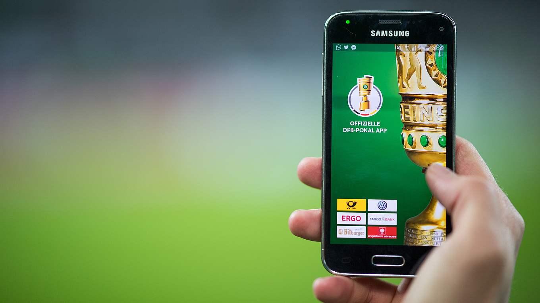 Livestatistiken In Der Dfb Pokal App Dfb Deutscher Fußball Bund