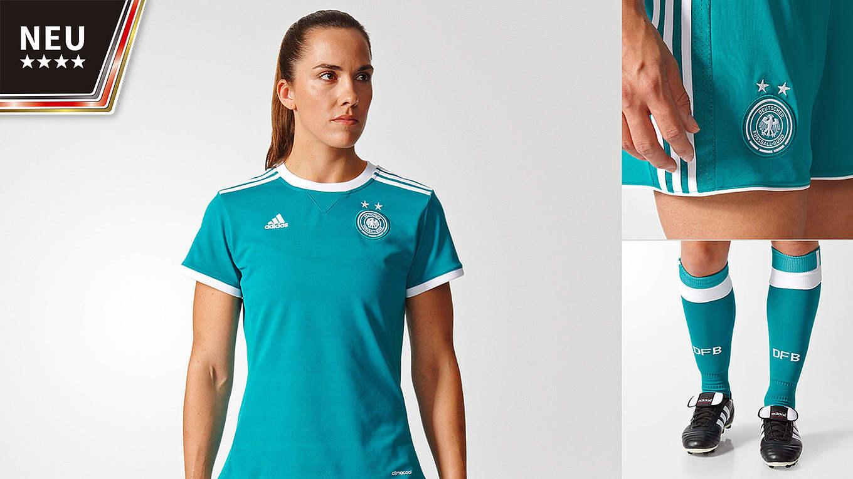 sports shoes c66b8 c13a3 Neues Frauen-Auswärtstrikot im Fanshop :: DFB - Deutscher ...