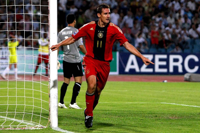 Klose Rekordschutze Auch Vs Aserbaidschan Dfb Deutscher Fussball Bund E V