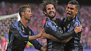 Club Atletico de Madrid v Real Madrid CF - UEFA Champions League Semi Final: Second Leg © 2017 Getty Images