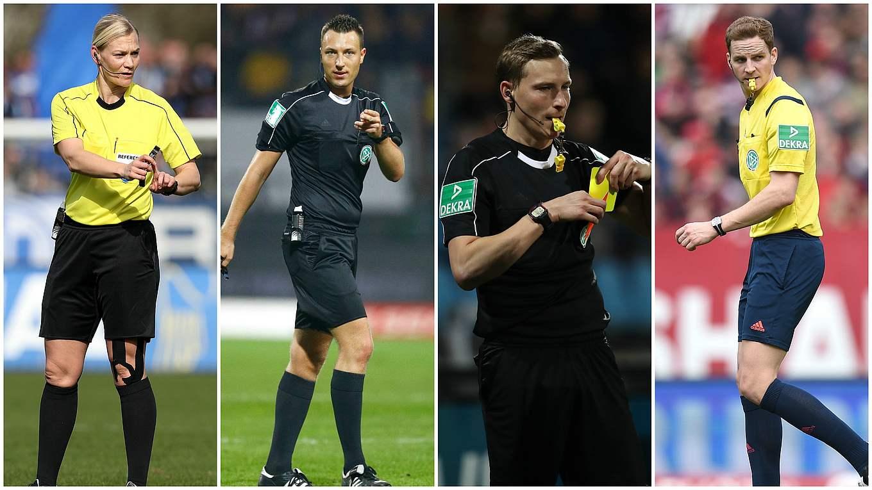 Schiedsrichter Quartett Steigt In Die Bundesliga Auf Dfb