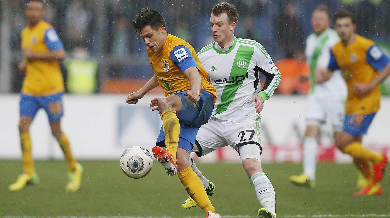 Vfl Wolfsburg Gegen Eintracht Braunschweig